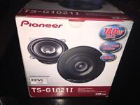 PIONEER DUAL CONE SPEAKERS 180watt