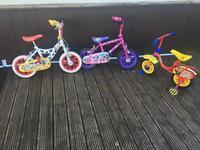 Job lot kids bikes