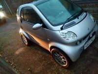 smart car for spares or repairs or will break.