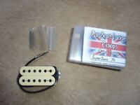 ASL/Oil City Masterwound Super Sonic 70/Transonic bridge pickup DiMarzio Super Distortion