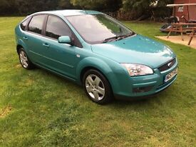 Ford Focus Diesel 1.6 TDCi Style 5dr,70,000,Lady owned,12 month MOT,Aircon,CD Player,Very clean car