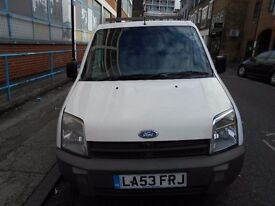 2004 FORD TRANSIT CONNECT T200 18TD PANEL VAN YEAR MOT S/HISTORY CAMBELT DONE ROOF RACK