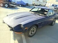 WANTED datsun 240z 260z project cars