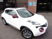 Nissan Juke TEKNA DIG-T (white) 2015