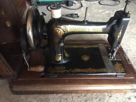 Bradbury sewing machine early 1900's
