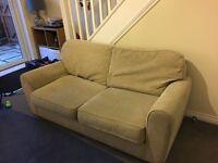 2 seat sofa bed.