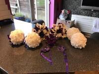 Wedding flowers. Bouquet
