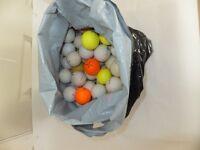 100 practise golf balls