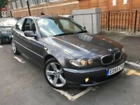 BMW 330CD SE COUPE AUTO 3.0 DIESEL 2005 (55) E46 FULL HEATED LEATHER SEATS ELECTRIC SEAT LOW MILEAGE