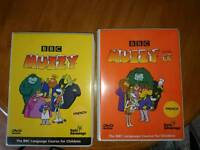BBC Muzzy Levels 1&2 DVD Early Advantage French Language Course for Children