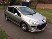 PEUGEOT 308, AUTOMATIC, 6 MONTHS FREE WARRANTY, FULL SERVICE HISTORY