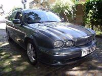 Jaguar X-type Estate diesel 2.0, 165K some service history mot 1 year looks and drives good p/x wel