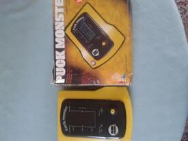 vintage/retro 1980s Puck monster/ Pacman handheld electronic game console * Boxed* very good con