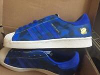 Brand new Adidas 80v Superstar Undefeated x bap. Size 9. Eur 43.5