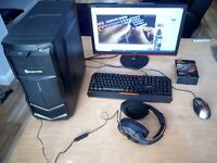 1080 VR Ready WIFI Gaming PC