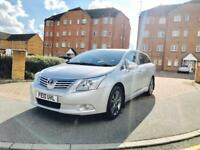 TOYOTA AVENSIS T4 D4D ESTATE DIESEL, 2010 PLATE, FULLY LOADED, 12 MONTHS MOT & FULL SERVICE HISTORY.