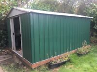 YardMaster Emerald Deluxe Metal Shed for Sale