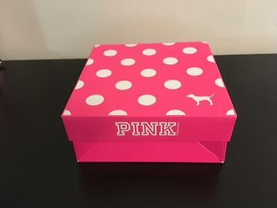 Polka Dot Paper (Victoria's Secret Small Pink Polka Dot Gift Box & Tissue Paper Christmas)