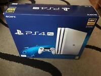 Playstation 4 pro 1TB glacier white NEW