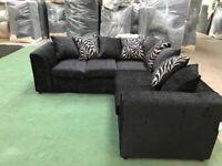 Brand new Zina corner sofas