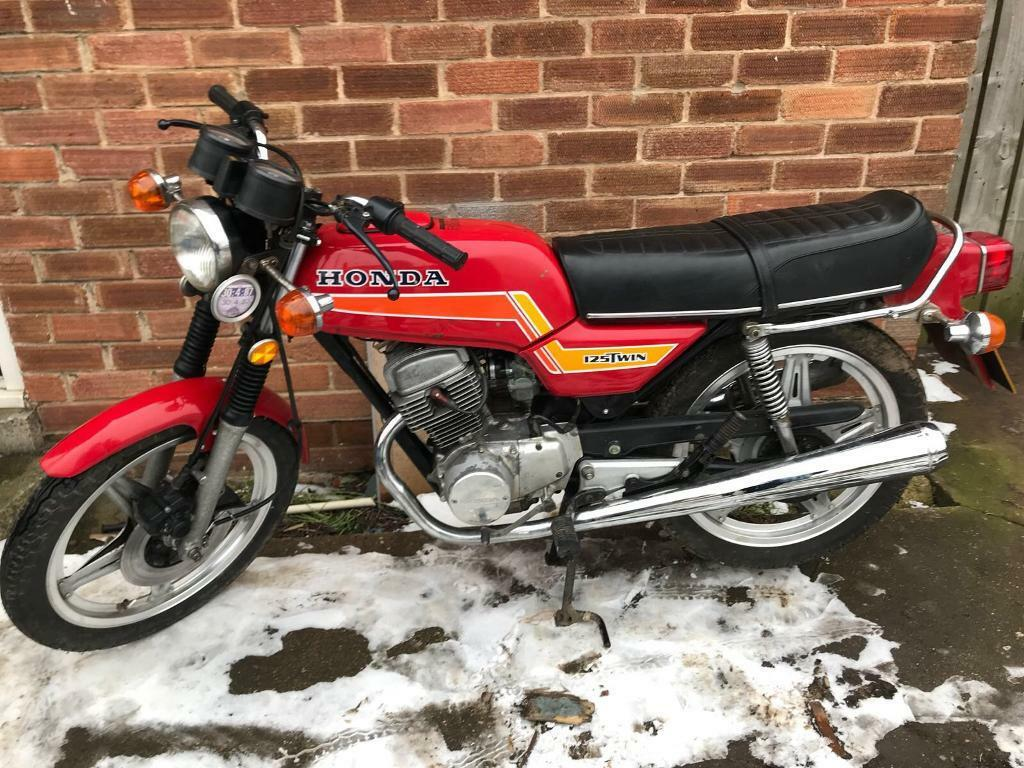 very rare honda cb 125 twin in hull east yorkshire gumtree. Black Bedroom Furniture Sets. Home Design Ideas