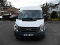 FORD TRANSIT MEDIUM WHEEL BASE MEDIUM ROOF 2009