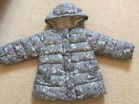 Girls Next 18-24 months Winter Coat