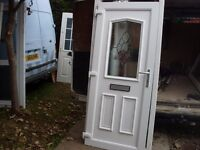 six upvc doors various large bundle to clear