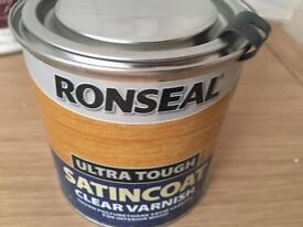 250ml Ultra Tough Internal Clear Satincoat Varnish