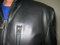 Gents Original Ben Sherman Leather Jacket