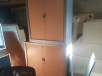 office tambour cabinets ideal for garage workshop etc