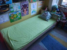 2 Ikea Bed frame with slatted bed base SNIGLAR (kids)