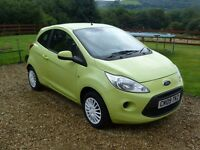 2009 FORD KA STYLE 1.2 PETROL.GREEN MANUAL HATCHBACK