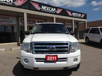 2011 Ford Expedition XLT 4WD 8 PASS REAR HEAT ONLY 131K