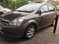 Toyota COROLLA VERSO SPRIT - FULLY LOADED MODEL, BACK SEAT SCREEN INSTALLED, T SPRIT