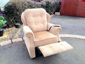 QUALITY LUXURY TWIN MOTOR RISER / RECLINING CHAIR