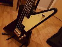 Epiphone Ltd. Ed. Korina Explorer Bass £190