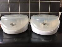 Tommee Tippee microwave sterilisers
