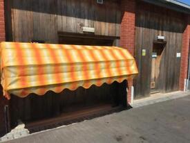 Wall Mounted Sun Canopy