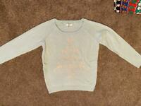 Ladies Fat Face Christmas jumper size 12
