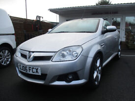 2006 Vauxhall Tigra 1.4 i 16v Exclusiv 2dr (a/c) comes with 12 months mot