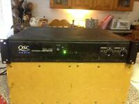 QSC x 1450 Professional Stereo Power Amplifier.