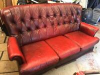 Free Faux leather sofa collection only