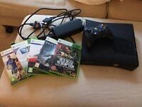 Xbox 360 + 5 games