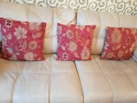 Modern and stylish red cushion great condition great high quality