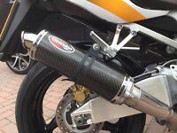 Honda FireBlade Scorpion carbon exhaust/silencer fits 2000 - 2003 929/954