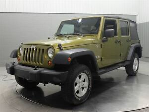 2008 Jeep WRANGLER UNLIMITED SPORT 4X4 A/C MAGS