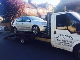 24hour recovery in kent and southeast areas. friendly with competitive prices.