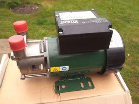 Stuart Turner 5bar electric pump,brand new and in original box.10 metre head.