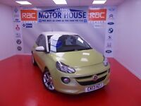 Vauxhall Adam SLAM (MUST BE VIEWED) FREE MOT'S AS LONG AS YOU OWN THE CAR!!! (yellow) 2013